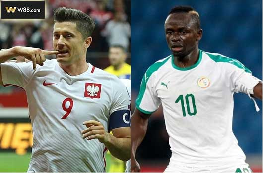 Soi kèo Ba Lan vs Senegal, 22h ngày 19/6 (World Cup 2018)