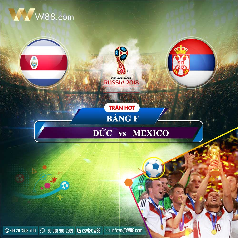 Soi kèo Costa Rica vs Serbia, 19h00 ngày 17/6 (World Cup 2018)